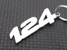 FIAT 124 schlüsselanhänger SPIDER TURBO 1.4 COUPE 2016 CABRIO 2000 emblem anhäng