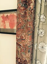 BIG VINTAGE LIBERTY of London Curtain 50's 60's mid-century danese era TESSUTO PORTA