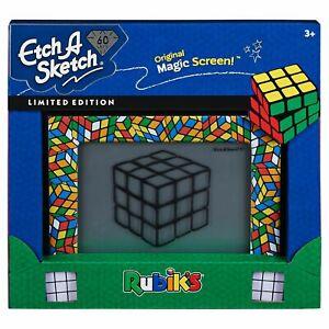 60th-ANNIVERSARY-Etch-A-Sketch-LIMITED-EDITION-Rubik-039-s-Cube-Edition-MAGIC-SCREEN