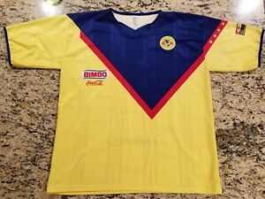 154e01e589e Image is loading Club-America-Retro-Jersey-Camiseta-Aguilas-Large-Futbol-