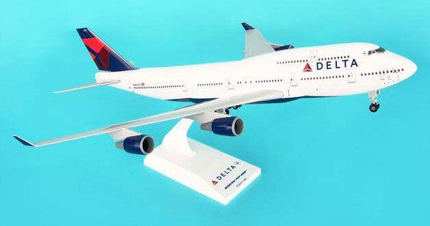 Delta air lines boeing 747 - 400  200 skymarks skr508 flugzeug modell airlines dl