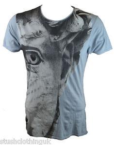 Pearly-King-Herren-Sky-Due-T-Shirt-Sky-PKTS080