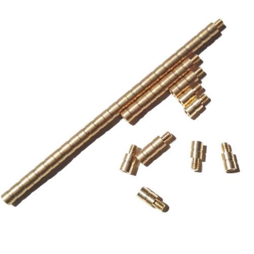 6pcs 100 Grain Archery Arrow Weight Copper Screw Point Inserts Bow Balance Combo