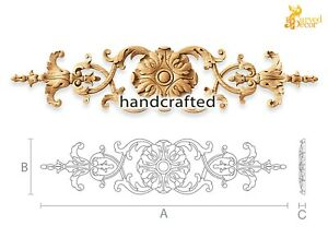 Antique Wood Appliques For Kitchen Cabinets 10 Pc Ebay