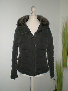 Gute Preise guter Verkauf exquisites Design Details zu ZARA Winterjacke Gr. L schwarz Winter Daunen Jacke Mantel  Wintermantel