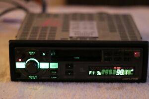 Alpine-Car-Stereo-TDA-7548-Cassette-Player