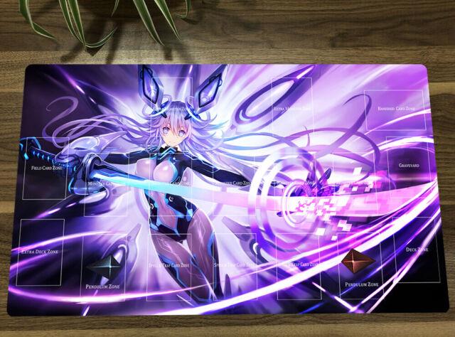 Hyperdimension Neptunia Neptune Anime Mouse Pad Game Playmat Keyboard Yugioh Mat