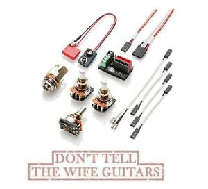 Astounding Emg Solderless Wiring Kit 1 Or 2 Pickups Long Shaft Ebay Basic Wiring 101 Mentrastrewellnesstrialsorg
