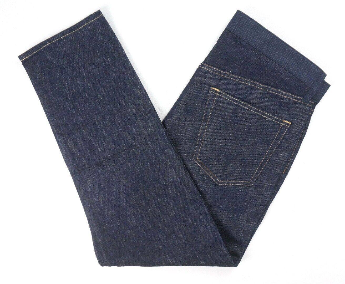 Neu Junya Watanabe Comme des Garcons Man Linien Mischung Wolle Größe Jeans
