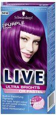 Schwarzkopf Live Ultra Brights 094 Purple Punk Semi-Permanent Hair Dye x 1