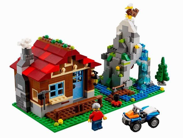 LEGO 31025 31025 31025 - Creator  Model  Building - Mountain Hut - 2014 - NO BOX 9cd31d