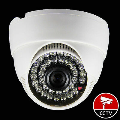 Wide angle 2.8mm 1300TVL HD CMOS Security Camera Color CCTV Home Dome White/899-