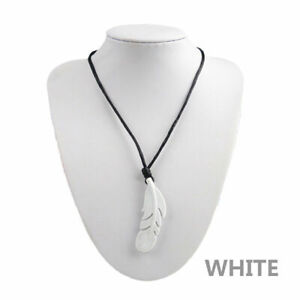 Stocking-Filler-White-Silicone-Feather-Teething-Necklace-Ideal-for-Men-and-Women