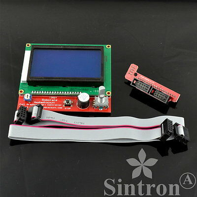 [Sintron] LCD 12864 Graphic Smart Controller Kit for RepRap RAMPS 1.4 3D Printer