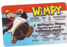 Wimpy aka Popeye 's Hamburger Loving friend  fun Halloween Costume gear