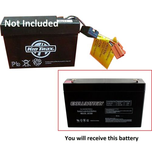 KidTrax 6v 7Ah Rechargeable Kid Trax Toy Battery Replacement 6volt 7amps *USA*