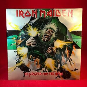IRON-MAIDEN-No-Prayer-For-The-Dying-1990-UK-vinyl-LP-PICTURE-DISC-EXCELLENT
