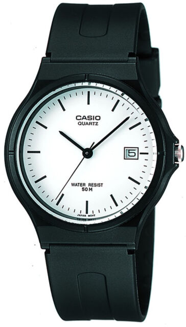 Casio Men's Casual Analog Dress Watch with Date Display MW-59-7E New