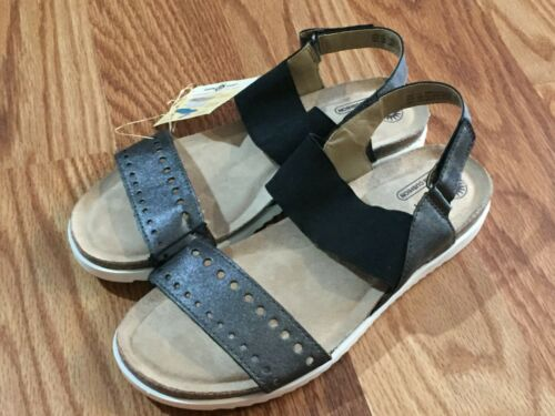 Earth Spirit Womens Gelron Cushion Footbed Sandals Black Sizes 7.5 or 11