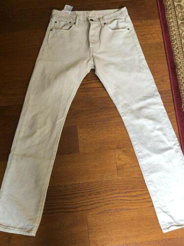 Levi's 501 Men's Jeans (29 X 32) beige