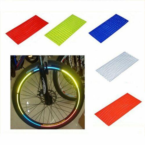 Bicycle Reflector Bike Safety Reflective Wheel Rear Red Spoke Reflectors Cycling
