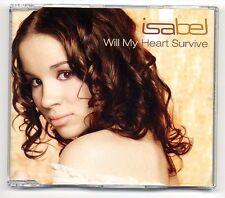 Isabel Maxi-CD Will My Heart Survive - 4-track CD - Dieter Bohlen Modern Talking