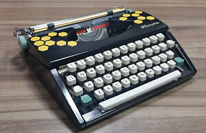 Olympia SF typewriter - 1962 - Customized- Revised
