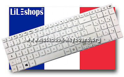 Touche Clavier packardbell easynote ts44hr blanc Touche
