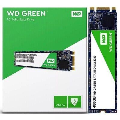 "Western Digital SSD 480GB WD Green 2.5"" 7mm 540MB//s Read Solid State Drive"