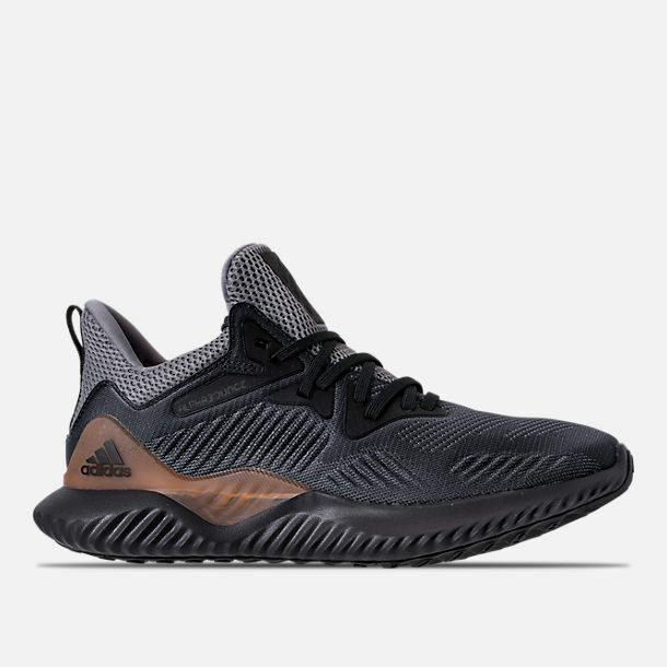MENS ADIDAS ALPHABOUNCE BEYOND GREY/CARBON RUNNING SHOES MEN'S SELECT YOUR SIZE