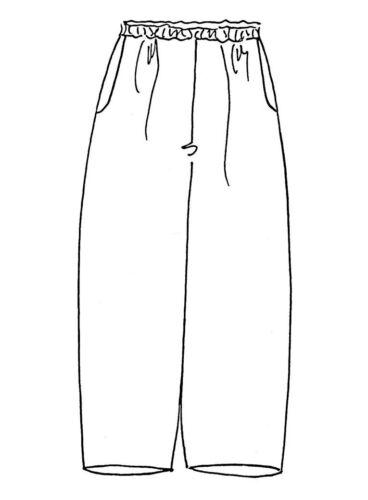 FLAX Designs  Linen Pants   1G   /& 2G   FLoods  NWOT  ASPHALT