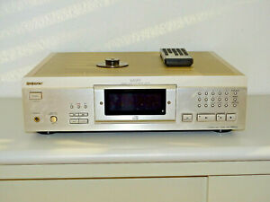 Sony-cdp-xa5es-high-end-reproductor-de-CD-en-champan-incl-Puck-amp-FB-2j-garantia