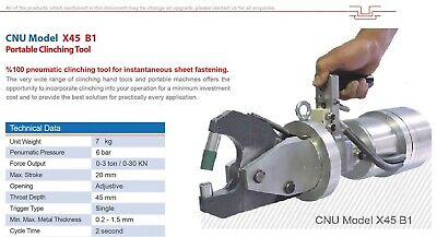 Portable Clinching Tool For Joining Sheet Metal Ebay