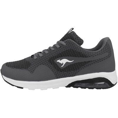 Kangaroos Kanga X Adult Knit Schuhe Sneaker Turnschuhe Sneakers Grey 81076-2019 Unterscheidungskraft FüR Seine Traditionellen Eigenschaften