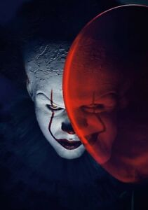 IT-Movie-PHOTO-Print-POSTER-2017-Textless-Art-Pennywise-Stephen-King-Clown-001
