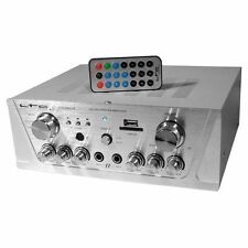 LTC Karaoke Mezclador estéreo amplificador de 2 X 50W Bluetooth USB SD ATM2000USB-BT