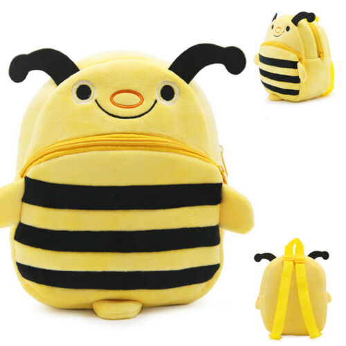 New Boys Girls Kids Nursery Toddler Bee Small Backpacks Schoolbag Book Mini Bags