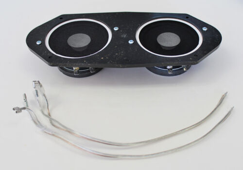 1965-1966 Ford Mustang AM FM Stereo Dash Speaker Dual Type Free Shipping NEW