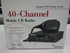 40 Channel Mobile CB Radio TRC-503 Radio Shack Boxed