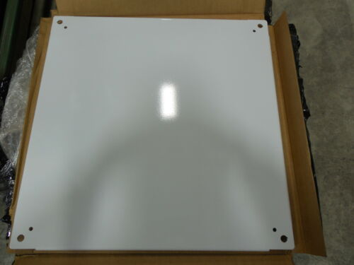 "SCE-24P24 WHITE POWDER COATED SUBPANELS BENT,21/""X21/""X1/"""