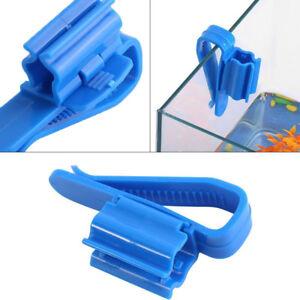 2pcs-Aquarium-Fish-Tank-Mount-Pipe-Filtration-Clip-Water-Tube-Hose-Holder-IJ