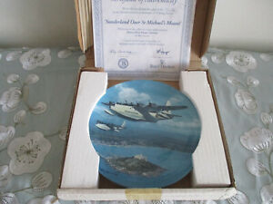 SUNDERLAND-OVER-ST-MICHAELS-MOUNT-ROYAL-DOULTON-COLLECTOR-039-S-PLATE-HEROES-OVER