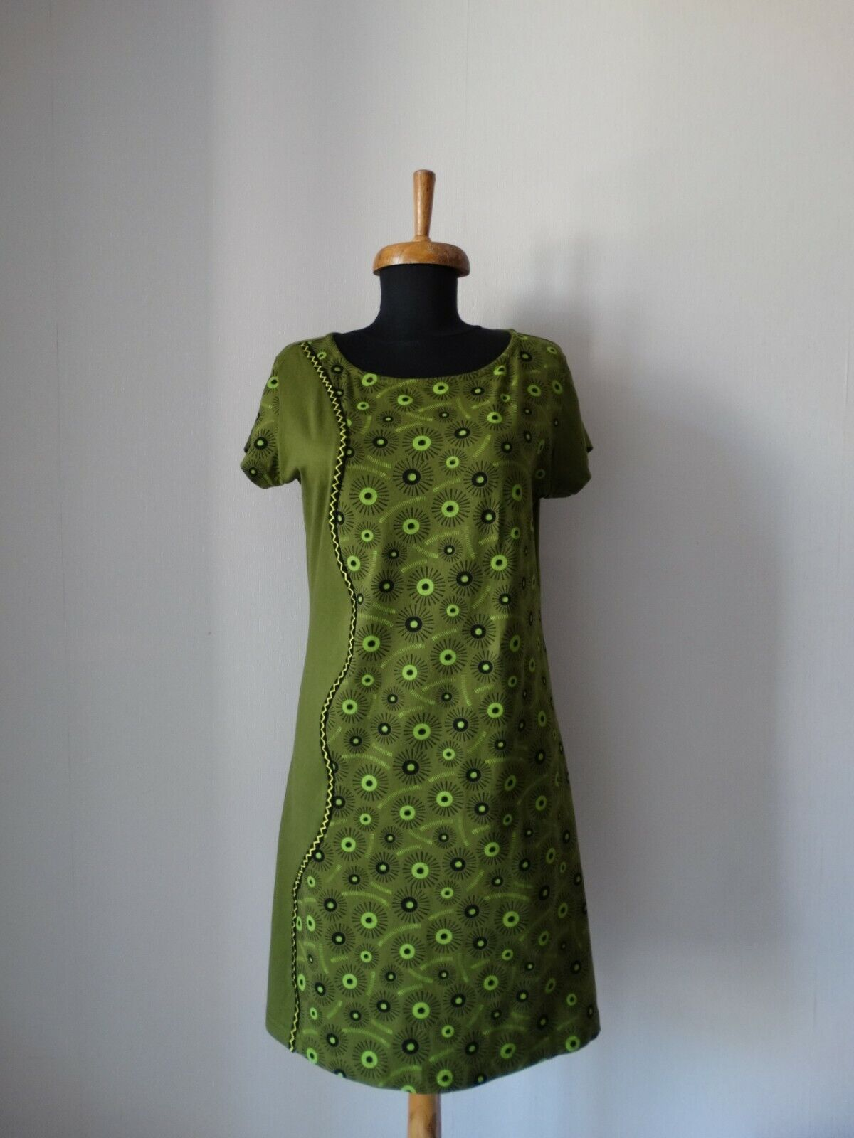 Deerberg Baumwolle Soomer Kleid Cotton Dress size S