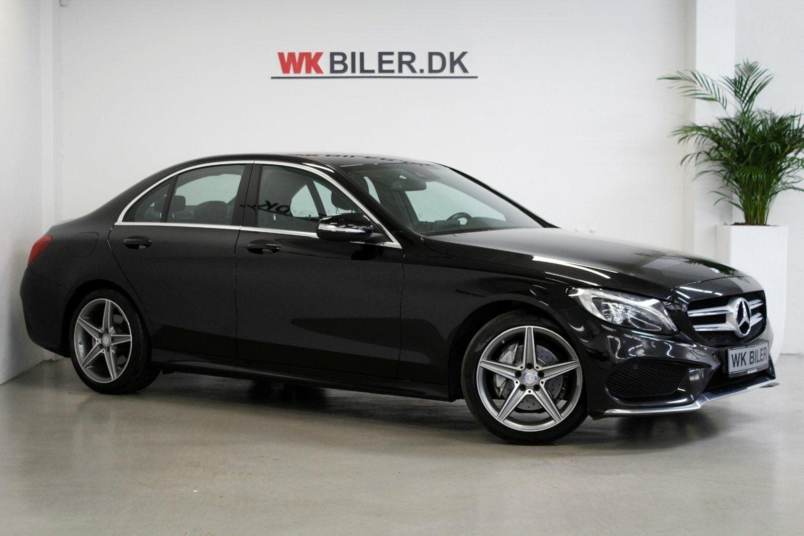 Mercedes C200 2,0 AMG Line aut. 4d - 1.999 kr.