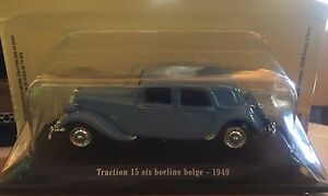 DIE-CAST-034-TRACTION-15-SIX-BERLINE-BELGE-1949-034-CITROEN-ATLAS-1-43