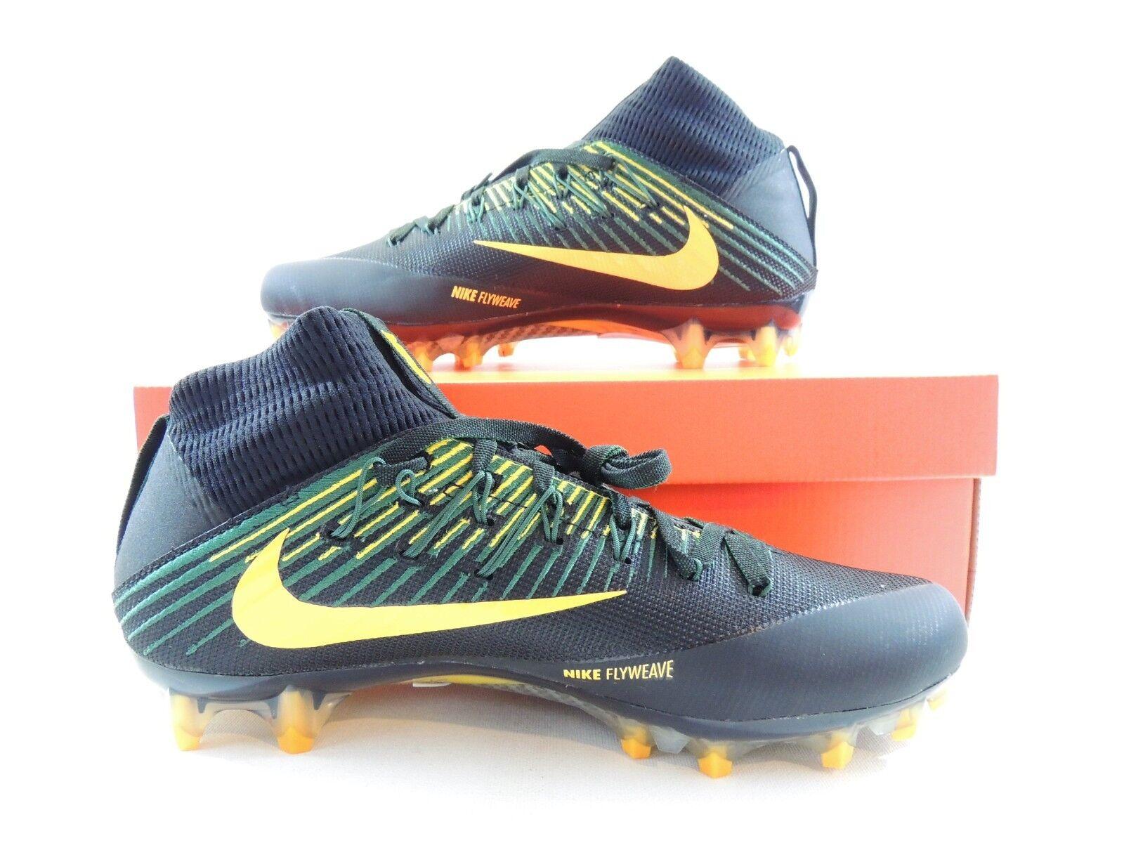 Nike Uomo Vapor Untouchable 2 PF Nero Green Yellow Packers 835646-012 Size 9.5