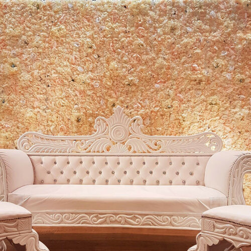 60x40cm Artificial Silk Hydrangea Flower Wall Panels Wedding Venue Decor
