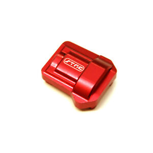 STRC-Traxxas-TRX-4-Bronco-MACHINED-ALUMINUM-HD-DIFF-COVER-Red-ST8280R
