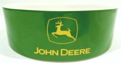John Deere Collectible Ceramic Bowls Two Bowl Set