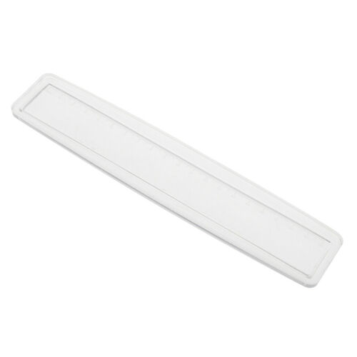 Silicone Ruler Mold Mould Epoxy Resin Jewelry Bookmark DIY Hand Craft Tool